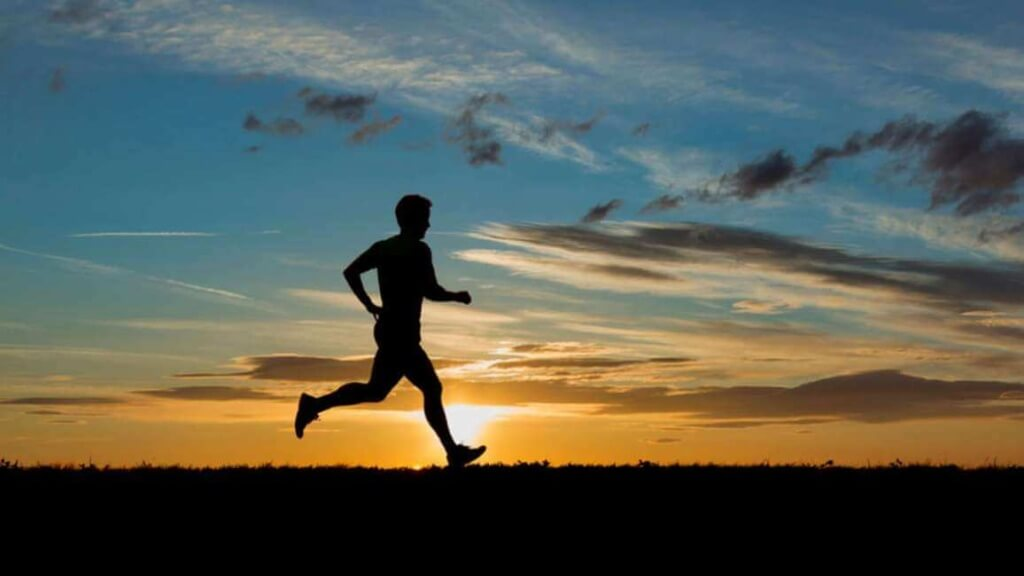 Бег утром и вечером