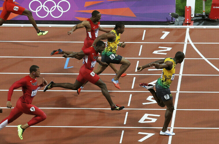 Самый быстрый бегун на 100 метров