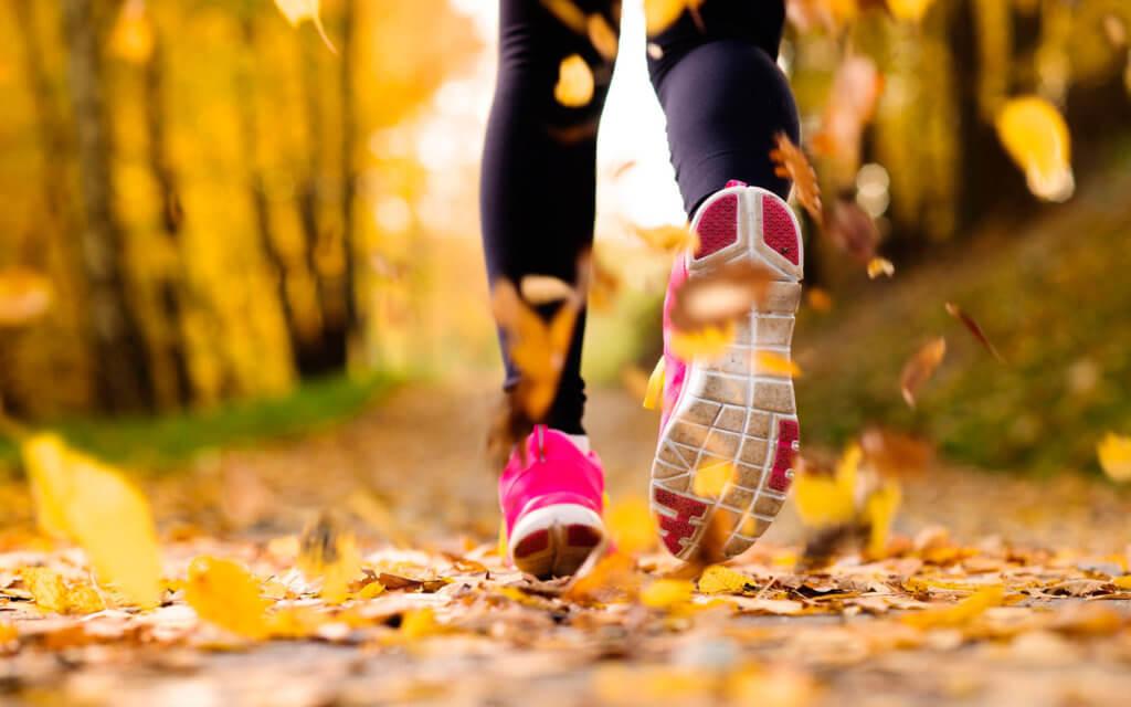 кроссовки бег осень