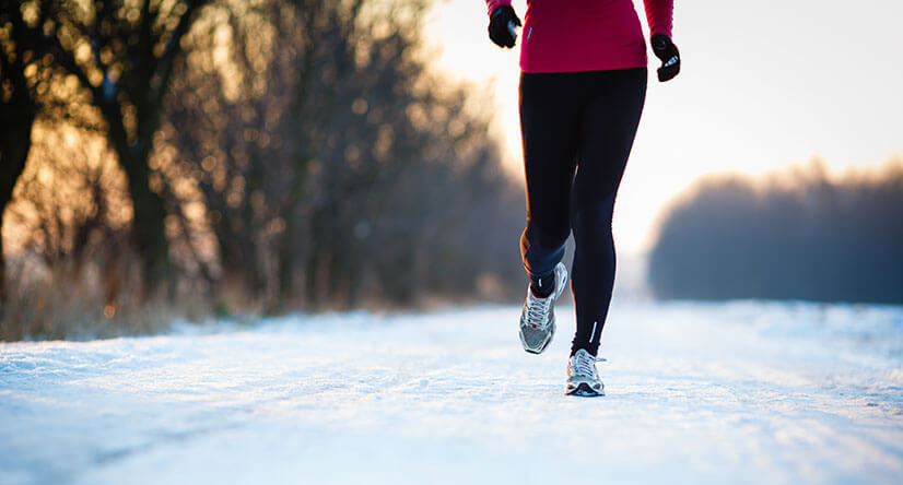 кроссовки для бега зимой по снегу