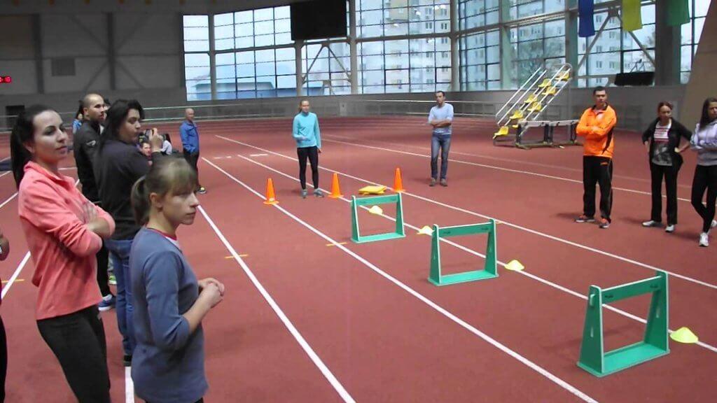 упражнения для барьерного бега