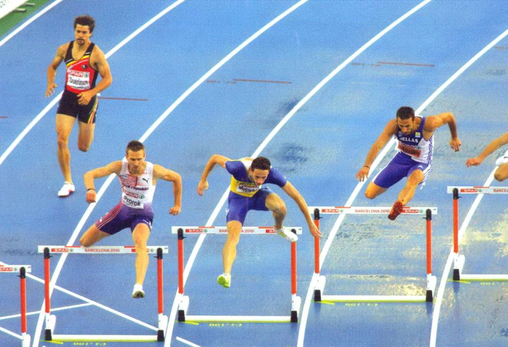 бег с барьерами рекорды
