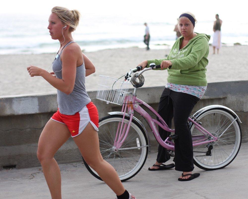 заменяет ли велосипед бег