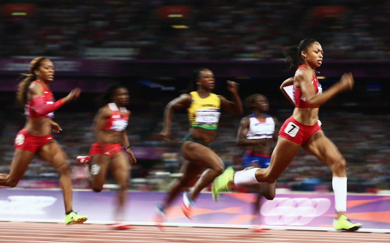 бег на 200 метров техника