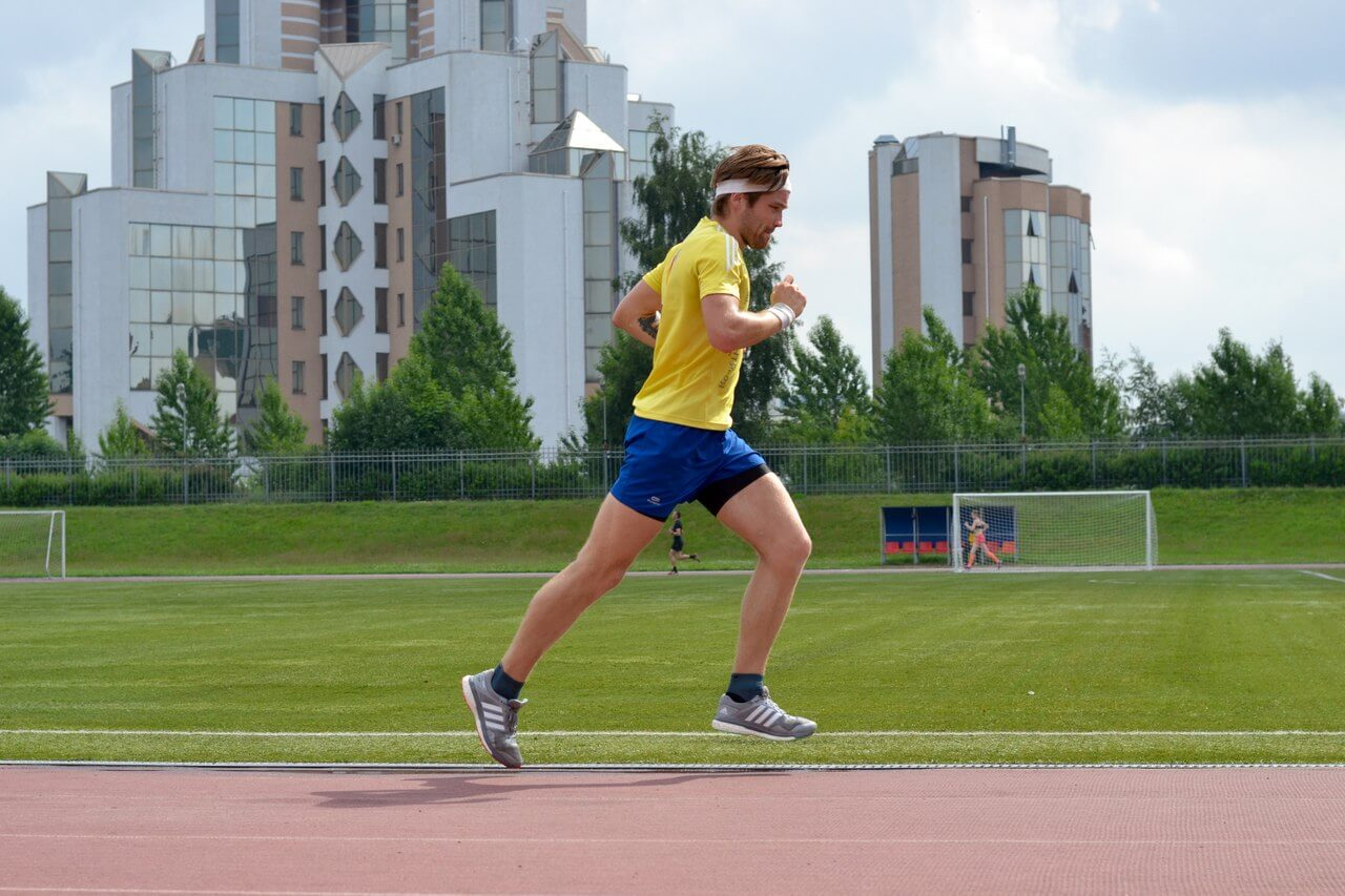 бег 60 метров техника