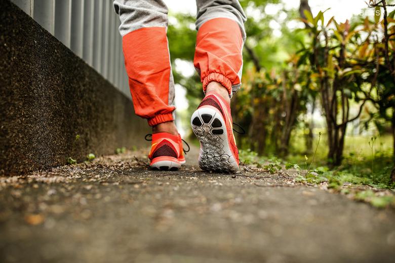 как правильно бегать на носках
