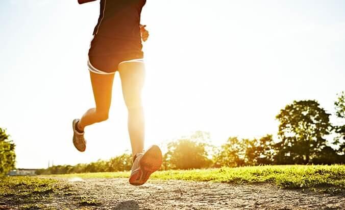 бег с изменение направления в движении