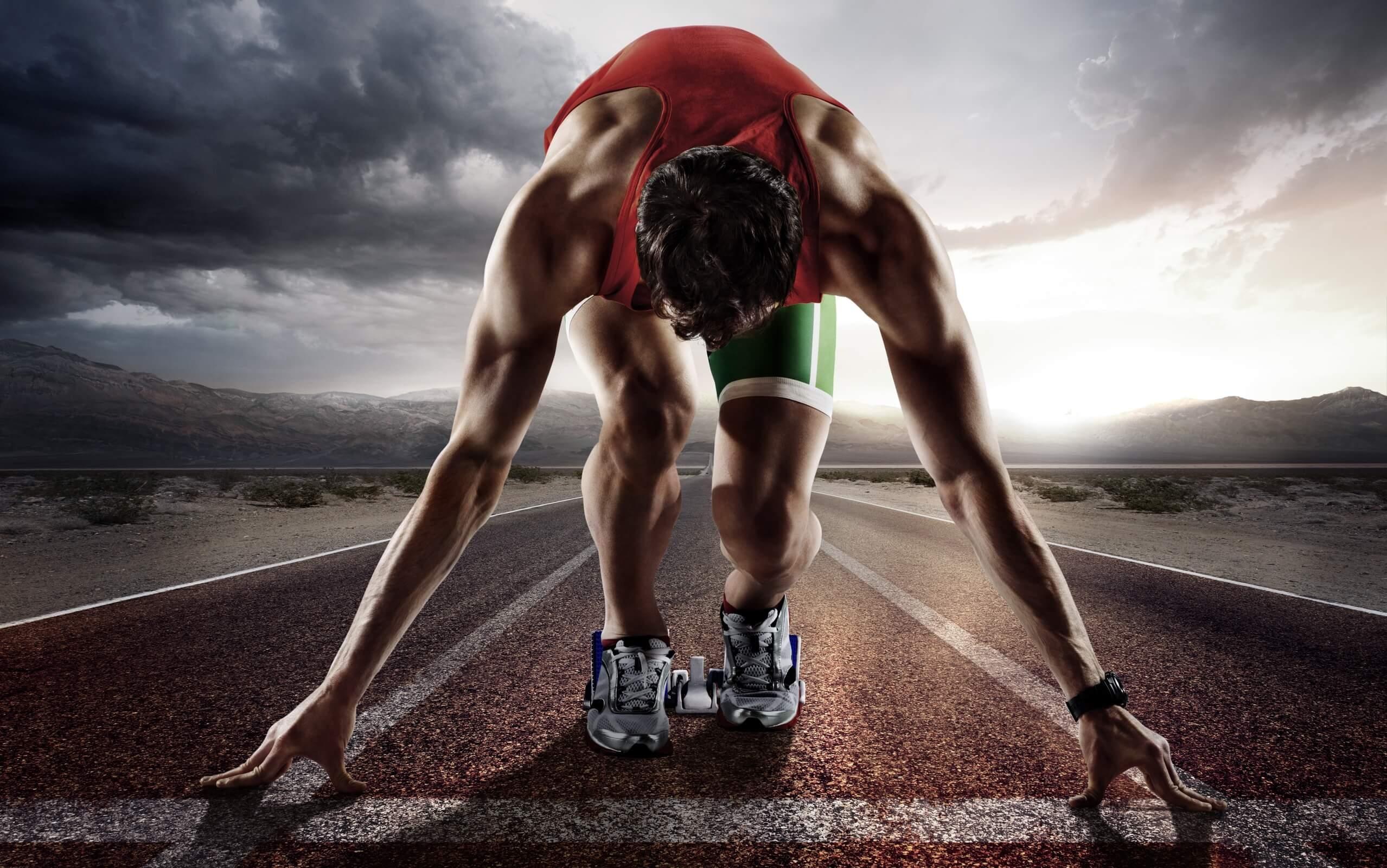 тренировка бегуна на 400 метров