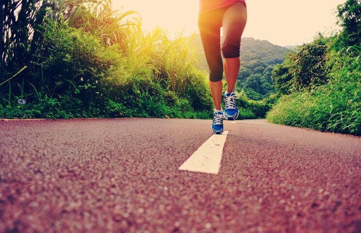 бег с утра на голодный желудок