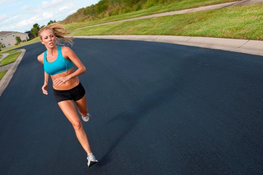 бег с изменением направления движения