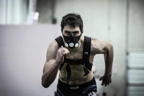 кислородная маска для бега