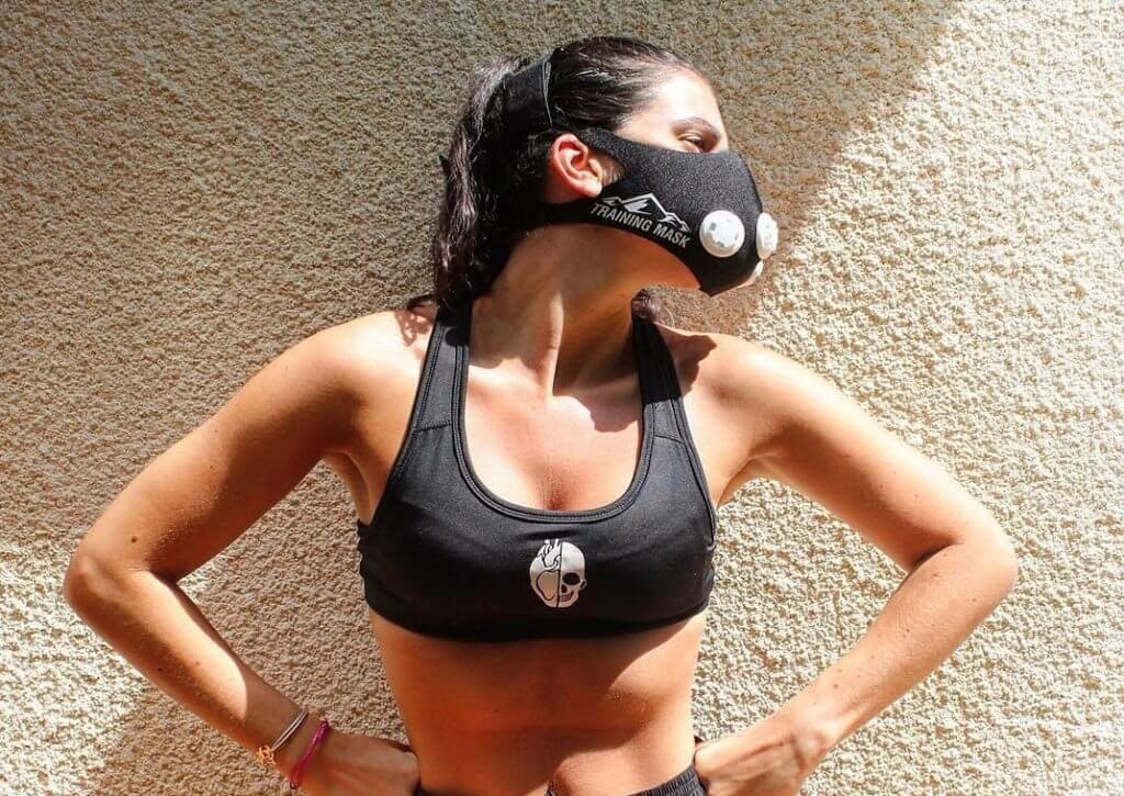 маска для дыхания во время бега