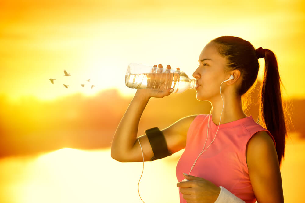 после бега можно пить воду