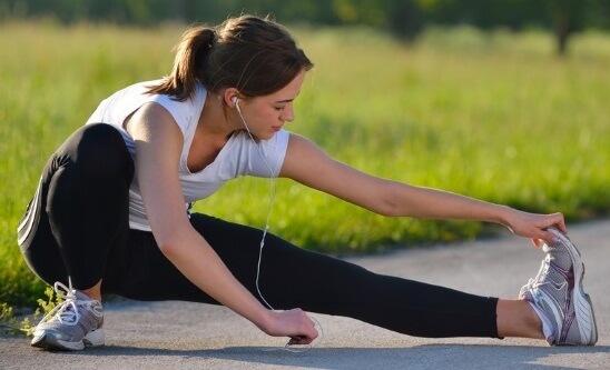 упражнения на растяжку после бега