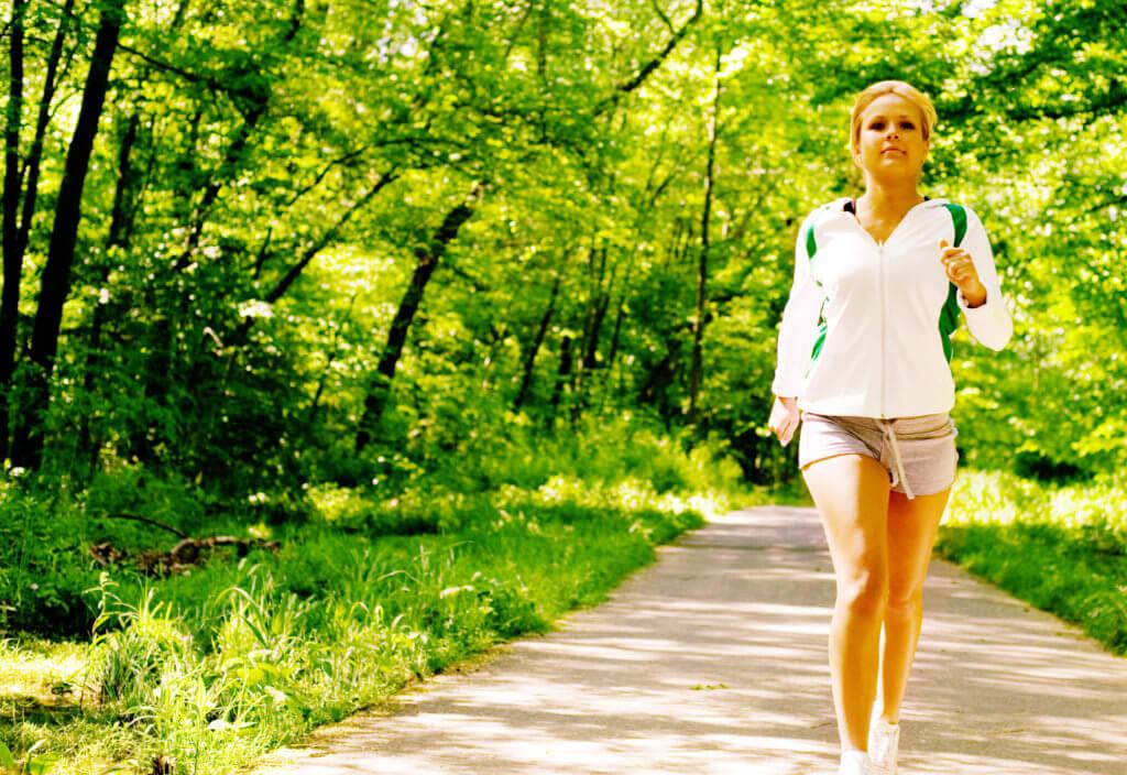 бегать с лишним весом