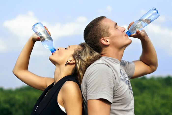 можно ли пить воду во время бега