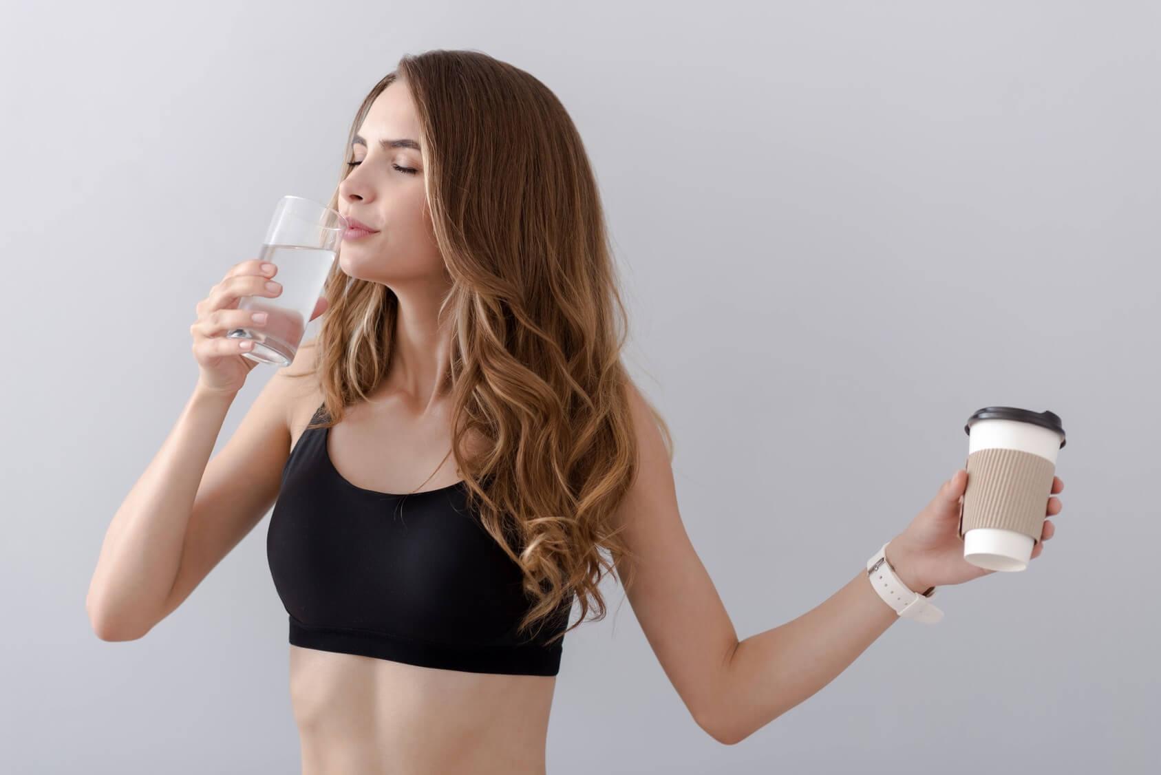 Можно ли пить молоко перед тренировкой