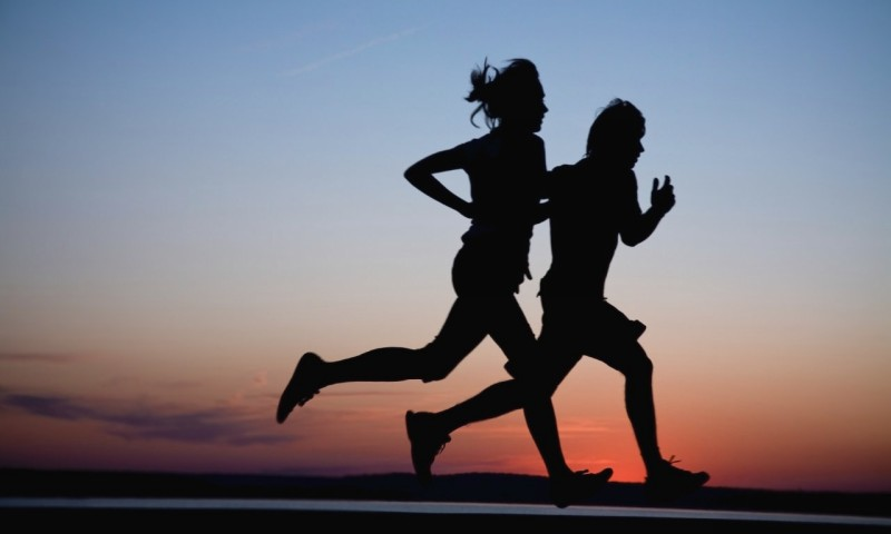 через сколько можно кушать после бега