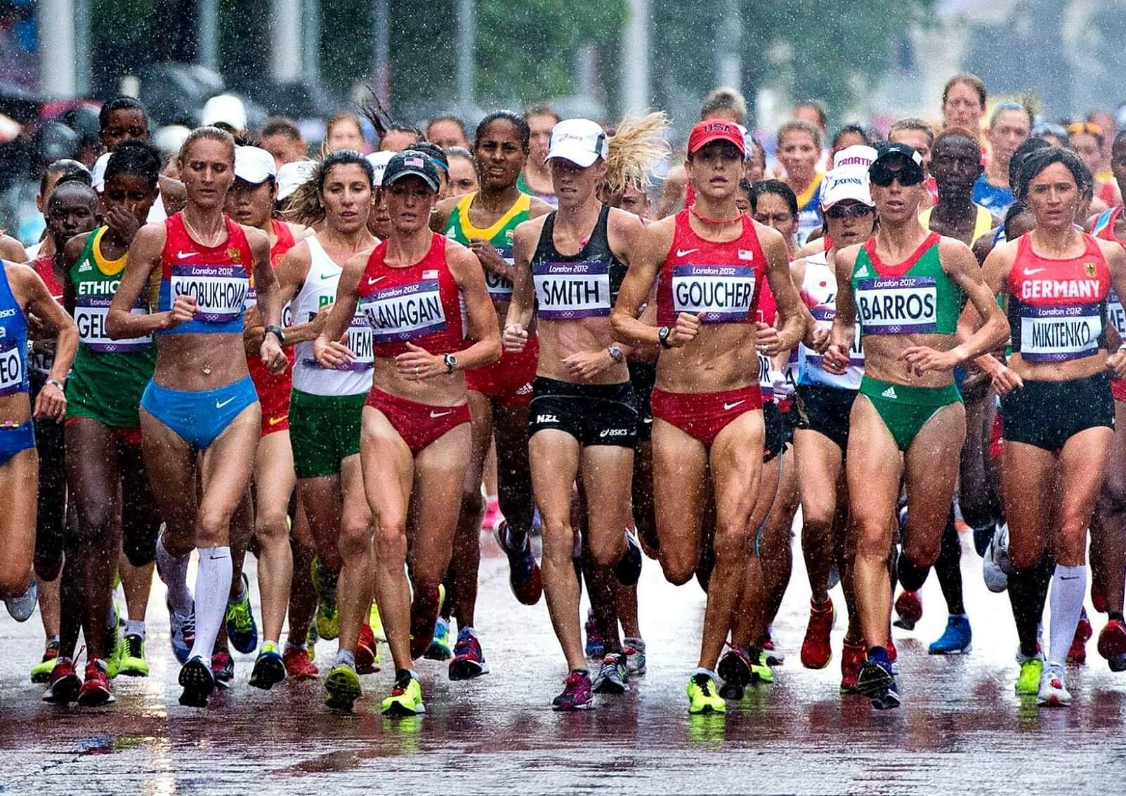 марафонский бег скорость бега