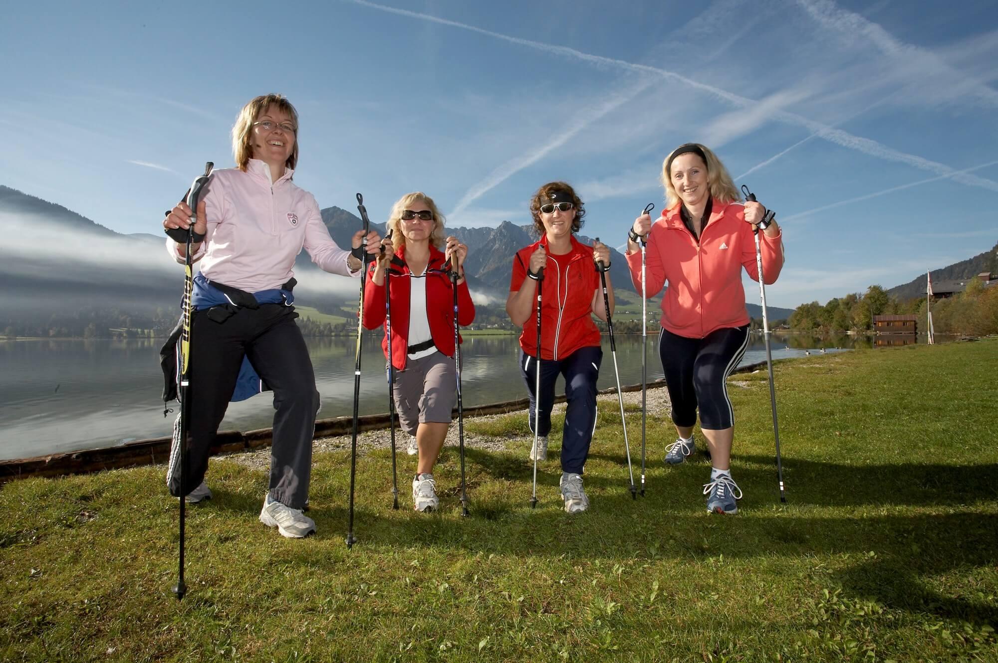 скандинавская ходьба с лыжными палками можно ли