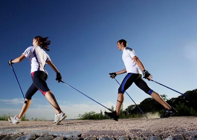скандинавская ходьба с палками польза