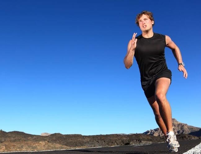 затраты энергии на бег