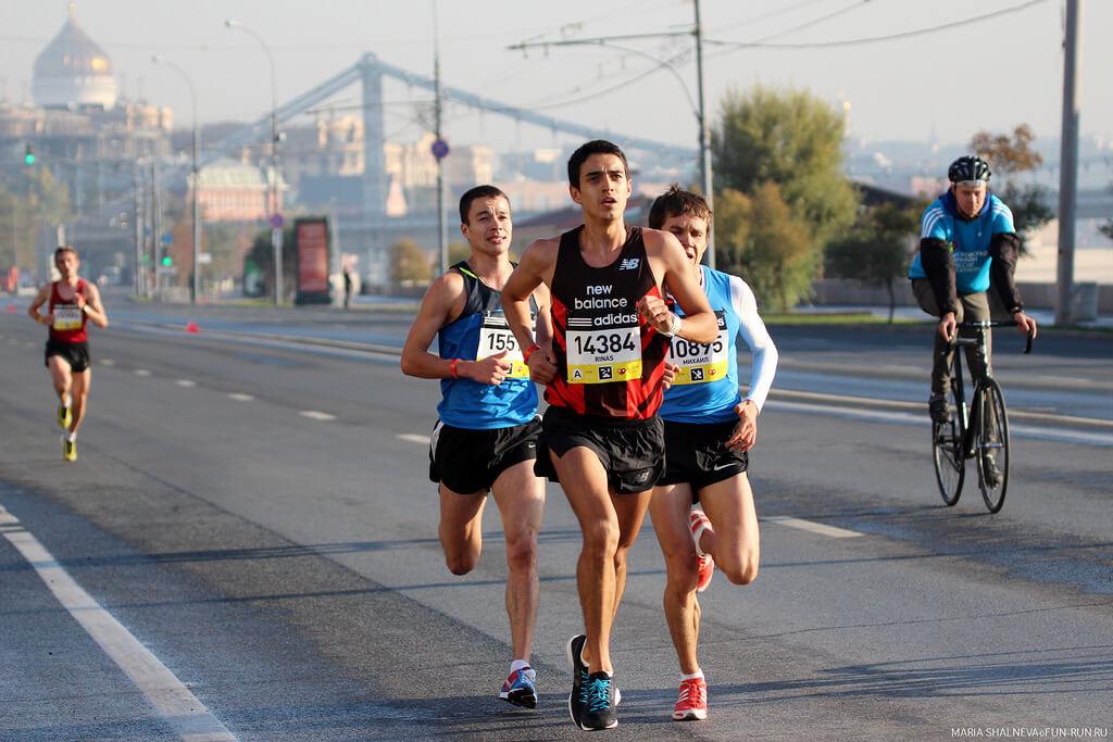 московский марафон результаты