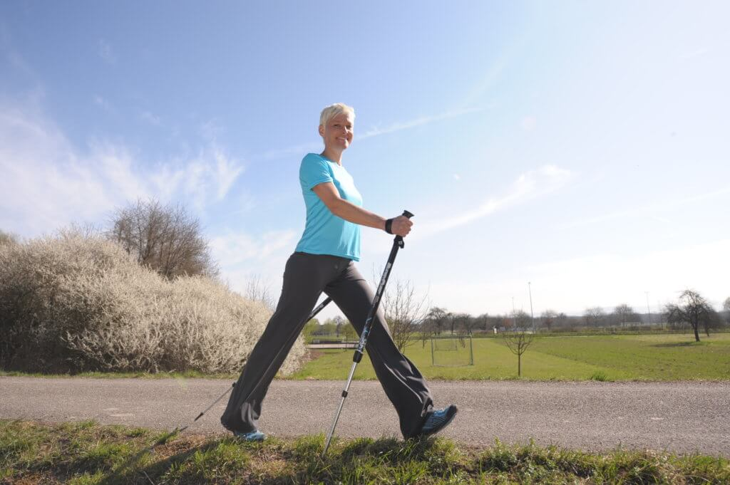 норвежская ходьба техника