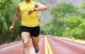 контроль во время пробежки