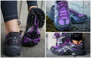 Женские и мужские зимние кроссовки для бега Asics Gel-Arctic 4