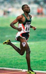 Рекорд бега на 1 км Кении Ной Нгени