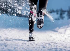 Зимние кроссовки для бега женские