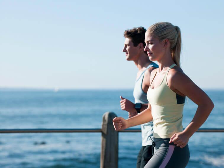 Правильный бег 1 км