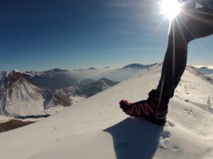 Зимние кроссовки для бега мужские