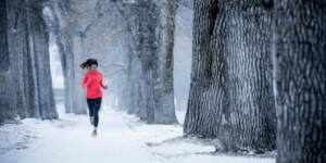 Кроссовки для бега по снегу