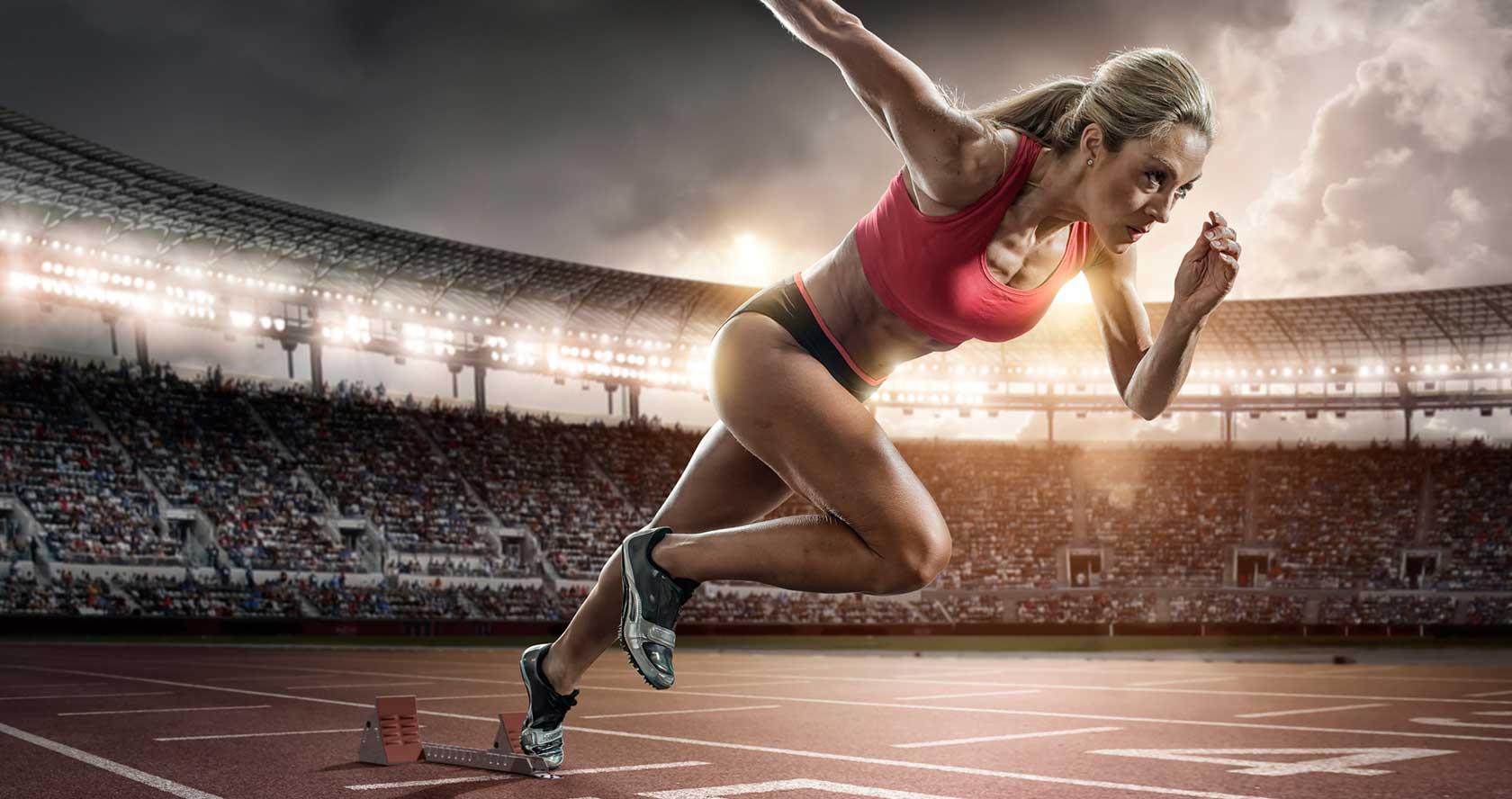 бег на 200 метров