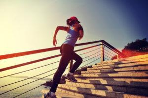 бег по лестнице калории