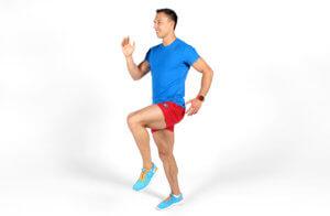 бег с высоким подниманием бедра методические указания