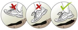 как правильно бегать с носка