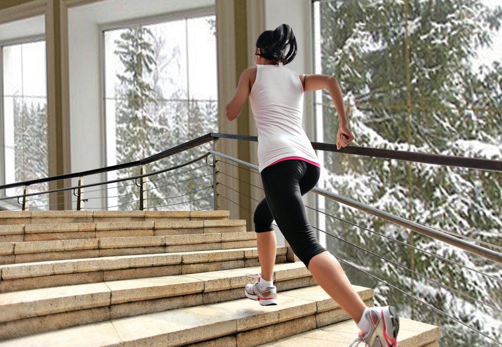 Похудение при ходьбе по лестнице