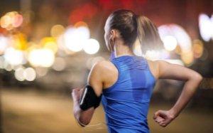 бег перед сном