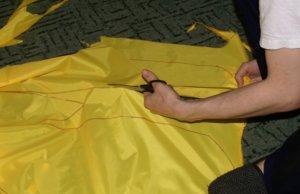 парашют для бега своими руками