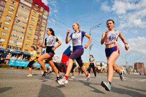 дистанция марафонского забега