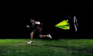 парашют для бега