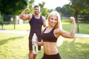 как согнать вес перед соревнованиями