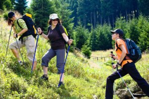 ходьба в гору для похудения
