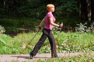 палки для скандинавской ходьбы отличие от лыжных