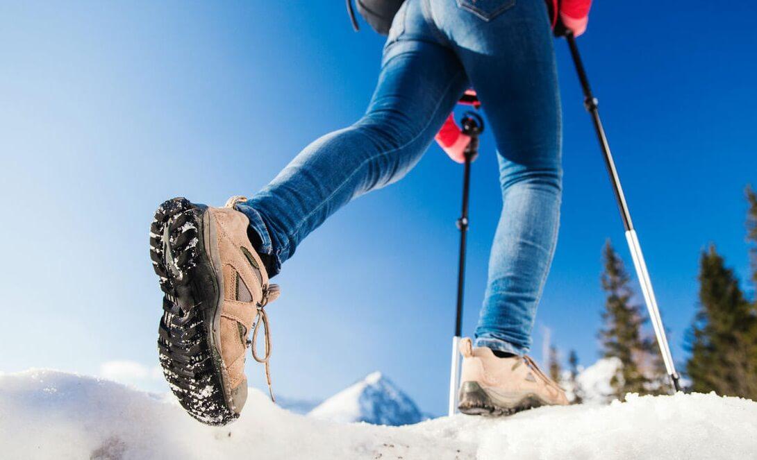 норвежская ходьба с палками техника