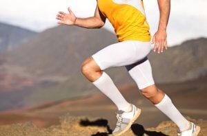 обтягивающие шорты для бега