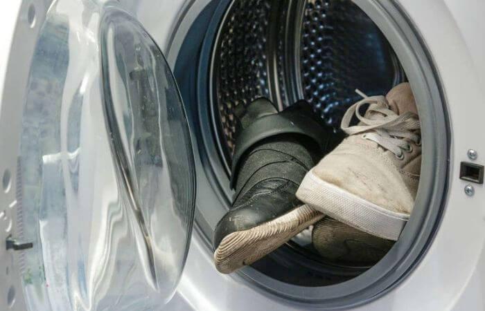 lg на каком режиме стирать кроссовки